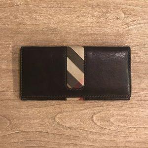 Burberry Black Wallet